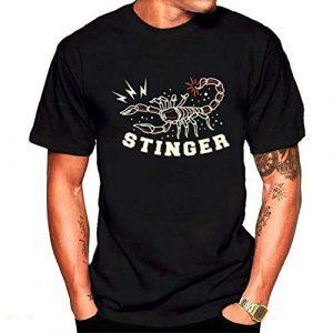 Hombre camisetas escorpiones