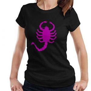 Mujer camisetas escorpiones