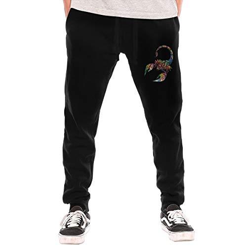 Hombre pantalones escorpiones