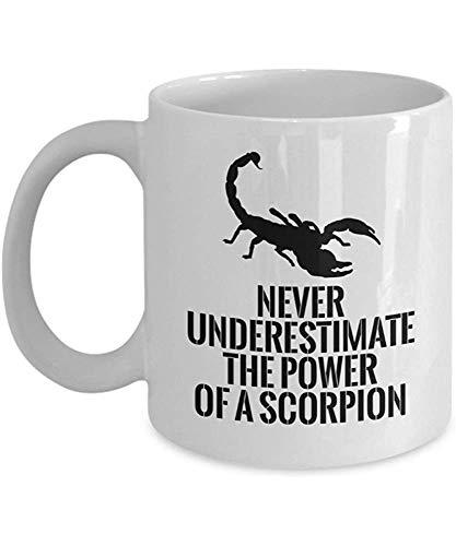 Tazas escorpiones
